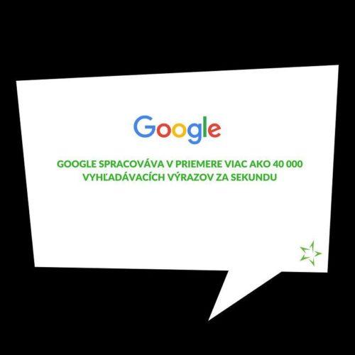 #funfact pre dnešok 🤔 #data #overload #spolunastobavi #google #mediatakeout #agency…